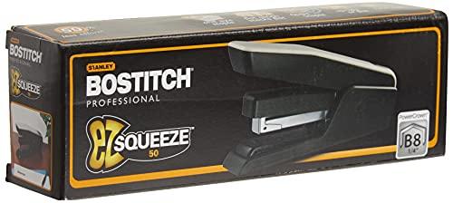 Bostitch EZ Squeeze 50 Sheet Desktop Stapler, Reduced Effort, Black (B850-BLK) Photo #9