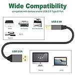 Froggen-Cavo-Stampante-USB-20-2M-Cavetto-per-Stampanti-A-MaschioB-Maschio-Cavetto-Placcato-Oro-per-Stampante-HP-Canon-Lexmark-Epson-dell-Xerox-Samsung-ECC