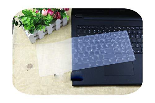 Silikon-Schutzhülle für 38,1 cm (15 Zoll) Laptop für Lenovo Legion Y720 Y520 Y530 Y540 R720 R730 15IKBN R720-15IKBN 15 Zoll, transparent