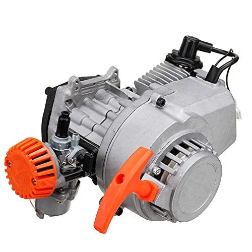 Filtro de aire del carburador del motor del motor del motor del motor del motor del motor de 49cc 2 para mini bolsillo cohete suciedad FOSA Quad de bicicleta CANAL DE TELEVISIÓN BRITÁNICO