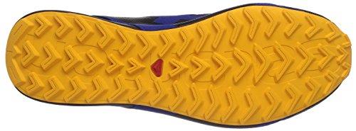 Salomon City Cross, Herren Traillaufschuhe, Blau (G Blue/Black/Yellow Gold), 46 2/3 EU (11.5 Herren UK)