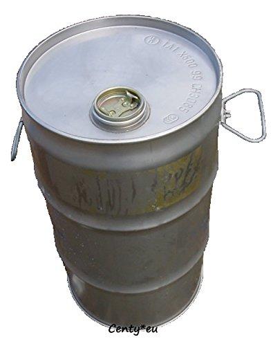 Edelstahlfass 25 Liter Kanister Niro VA Edelstahl Spundes Fass Tonne Behälter Rostfrei Drum Trommel 25L