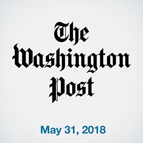 May 31, 2018 copertina