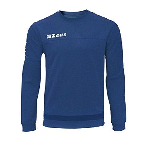 Felpa Enea Corsa Sport Uomo Staff Running jogging Allenamento Relax Calcio Calcetto Torneo Scuola Sport (ROYAL, M)