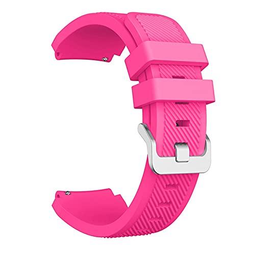 XXDA 22 mm Reloj de Reloj Correa para Xiaomi Haylou RT LS05S Pulsera Deportiva de Silicona de Correa para el Reloj Realme s Accesorios de Pulsera Inteligente