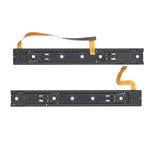 Guía deslizante derecha izquierda con módulo de cable flexible para Nintendo NS NX JoyCon Controller L R.