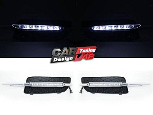 ProTuning LED Tagfahrlicht Tagfahrlicht Auto Nebelscheinwerfer Signallampe Für 2007-2010 X5 E70