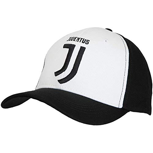 "FC Juventus Juventus Turin Offizielles Cap, Basecap, Snapback ""Logo"" in Schwarz/Weiss"
