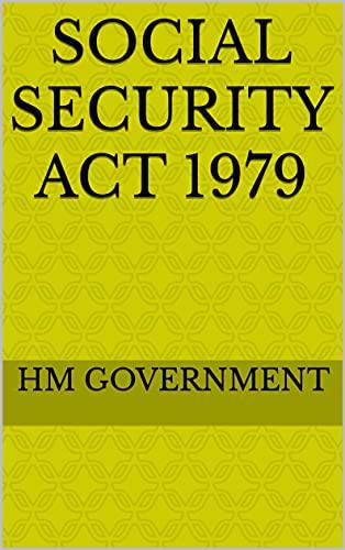 Social Security Act 1979 (English Edition)