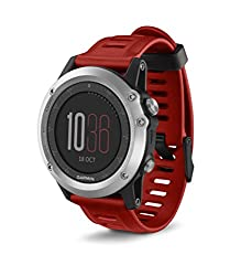 best hiking watch with long lasting battery life. Good for multi-day hiking trips - Garmin fēnix 3