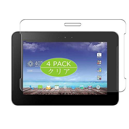 Vaxson 4 Stück Schutzfolie kompatibel mit Asus PadFone X Tablet 9