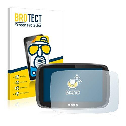 BROTECT 2X Entspiegelungs-Schutzfolie kompatibel mit Tomtom GO 5000 Bildschirmschutz-Folie Matt, Anti-Reflex, Anti-Fingerprint