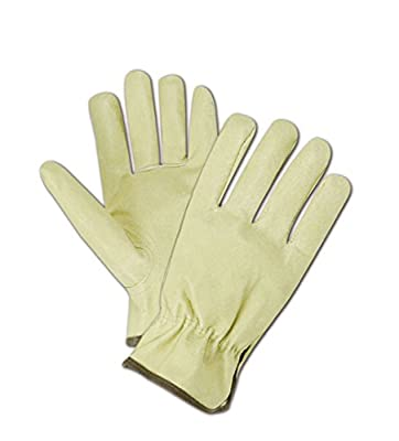 Magid Glove & Safety B741EL Roadmaster B741E Select Pig Grain Leather Driver-Keystone Thumb, Grain, Large, Tan (Pack of 12)