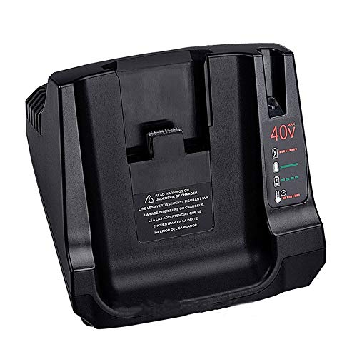 36V 40V MAX Battery Charger with 2USB Replacement for Black +Decker LCS36 LCS40 Li-ion Battery (Only charger, No battery)