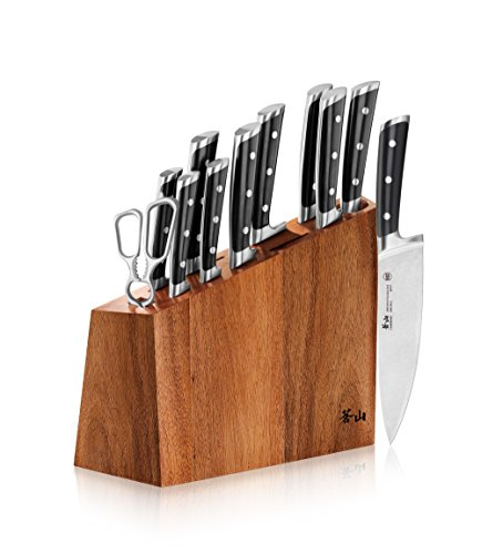 Cangshan S Series 60140 12-Piece German Steel Forged Knife Block Set