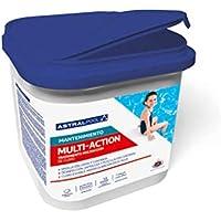 Astral Pool Cloro para Piscina multiaccion (Multifuncion) 5kg, tabletas 250g