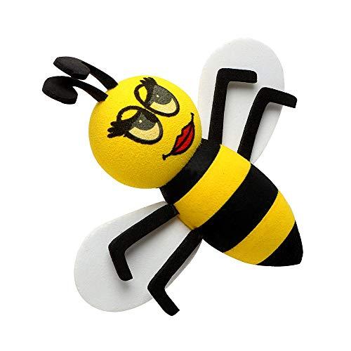 SSHELL Para decoración de coche, adorable, antena, decoración de coche, antena de coche, accesorios de interior linda abeja (nombre del color: Queen Bee)