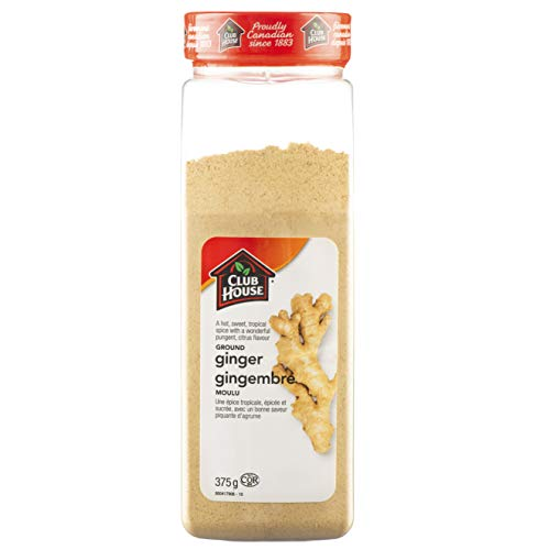 Club House, Quality Natural Herbs & Spices, Ground Ginger, 375g