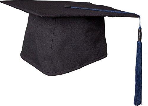 Chapeau : sponsionshut studentenkappe deluxe noir