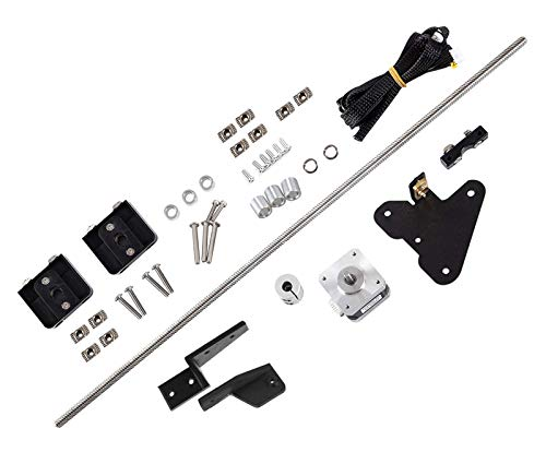 Dawnblade Ender-3 Dual Z Axis Upgrade Kit with Lead Screw Stepper Motor, 3D Printer Upgrade Parts for Creality Ender-3 / Ender-3 V2 / Ender-3 Pro/Voxelab Aquila