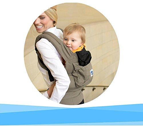 Marsupio neonato per il trasporto del bambino Mani libere - ergonomico progettato Multiple posizioni