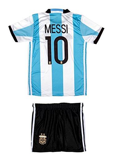 ATB Argentinien #10 Messi 2016/17 Heim Kinder Trikot und Hose