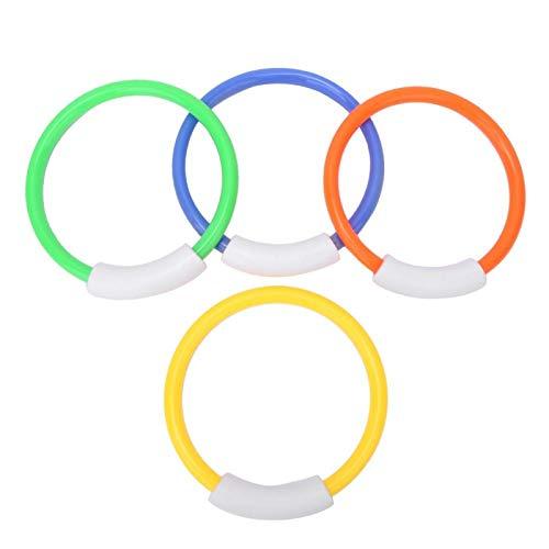 Círculo de buceo para niños Anillo de natación de plástico para piscina para niños para niños