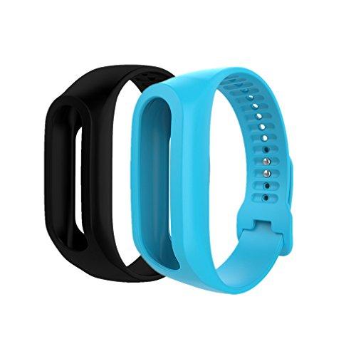 Meiruo Ersatzarmband für Tomtom Touch Cardio Fitness Armband für Tomtom Touch Cardio(Colour 5)