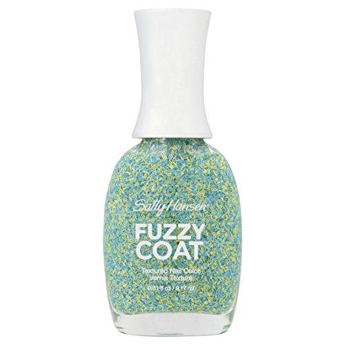Sally Hansen Fuzzy Coat Textur-Nagellack, Nr. 500, Fuzz-Sea/Sparkling Aqua, 10ml