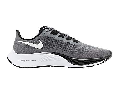 Nike Air Zoom Pegasus 37 - Scarpe da corsa, da uomo, colore: grigio metallizzato, colore: grigio, Grigio (Grigio metallizzato, argento grigio), 47 EU