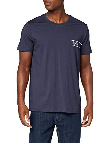 BOSS Herren RN 24 T-Shirt, Blau (Navy 414), X-Large (Herstellergröße: XL)