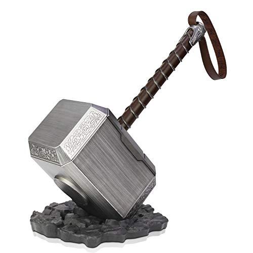 ZYER Martillo de Thor, Martillo de Batalla de Thor, Vengadores, Martillo de tamaño Natural para Hombres nuevos,