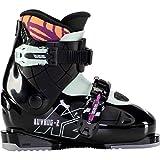 K2 Luvbug-2 Botas de esquí, Niñas, Negro-Menta, Mondo: 22.5 (EU: 36 / UK: 3.5 / US: 4.5)