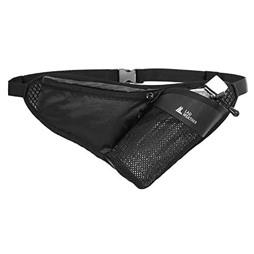 [ラドウェザー] ランニングポーチ ポーチ メンズ レディース ウエストバッグ 超軽量96g メッシュで蒸れない アウトドア 旅行 ジョギング