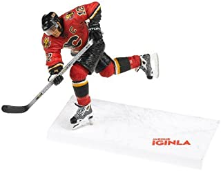 NHL Series 10: Jarome Iginla in Red Calgary Flames Uniform