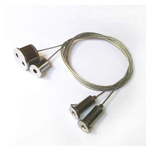 Cuerda de alambre Cuerda Colgante LED Accesorios de iluminación Lámpara lineal Colgando Cuerda Panel Luz Colgante Lámpara lineal Colgante Alambre Colgante 5pcs