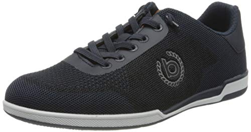 bugatti Herren 321726056900 Sneaker, Blau, 44 EU