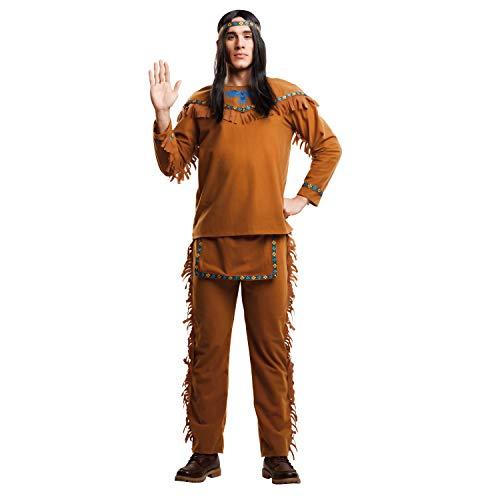 My Other Me Me-203398 Disfraz de indio velvet para hombre, M-L (Viving Costumes 203398)