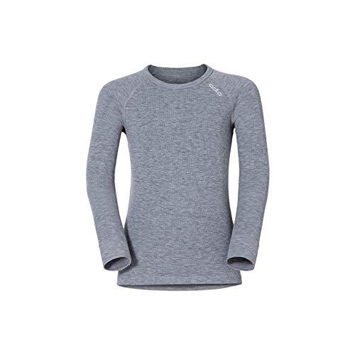 Odlo - Tee Shirt Warm Enfant 116 Cm - Gris