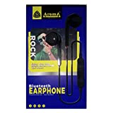 Aroma Rocks Bluetooth Earphone Extra bass White Best Gaming Quality (White)