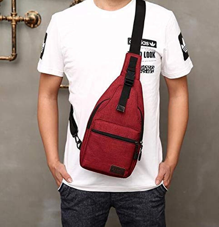 Chest Bag Home Herren Brusttasche Multifunktions Outdoor Sports Crossbody Tasche Mode Schulter Messenger Rucksack