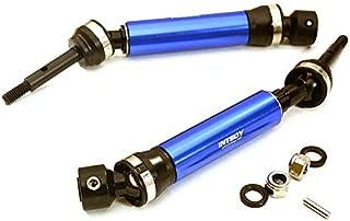 Integy RC Model Hop-ups T8564BLUE XHD Steel Rear Universal Drive Shaft (2) for Traxxas 1/10 Slash & Stampede 4X4