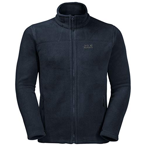 Jack Wolfskin Herren Thunder Bay Sweatshirt, Night Blue, M
