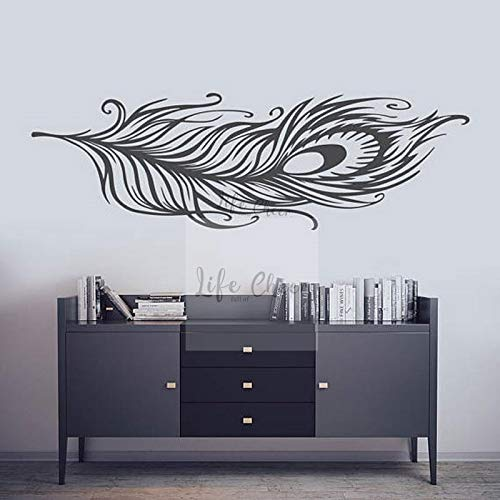 Geiqianjiumai Kreative Feder fliegen Muster Feder Vinyl wandmalerei wandaufkleber Dekoration 115.2 cm x 36 cm