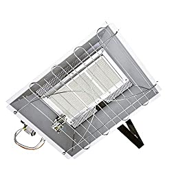 Dyna-Glo 22,000 BTU Natural Gas Overhead Infrared Garage Heater, Grey