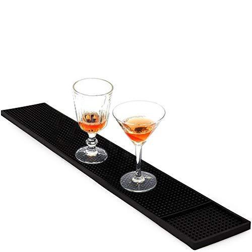 Bar Service Matte, rutschfest/verschüttete Getränke, Gummimatte für Bar, Restaurant, Arbeitsfläche (60 cm x 8 cm)