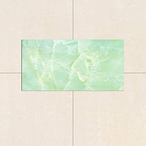 Pegatinas de pared de mármol de imitación de PVC, resistentes al agua y a la humedad, 30 x 60 cm, para papel pintado de cocina y baño (4 hojas)