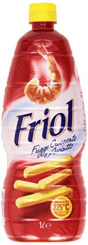 Friol Olio di Semi di Girasole Frigge Croccante e Asciutto, 1L