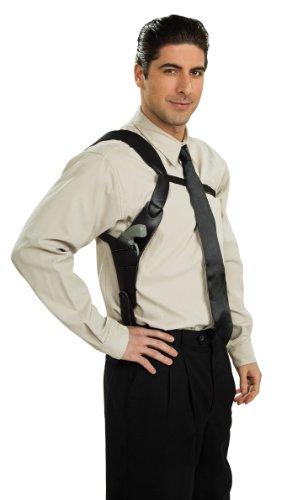 Rubie's mens Shoulder Holster, Black Costume, Multicolor, One Size US