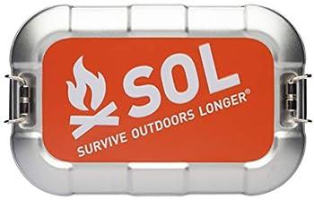 S.O.L Survive Outdoors Longer S.O.L Traverse Tin Mini Survival Kit